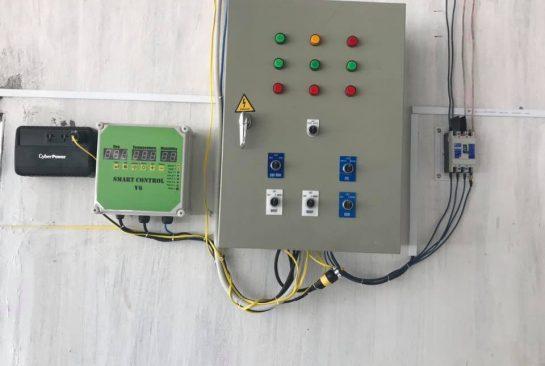 Lắp Đặt Tủ Điện Điều Khiển Quạt Cho Trang Trại